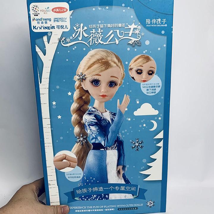Công Chúa Elsa Kèm Đũa Thần D0385 - Đồ Chơi Trí Tuệ