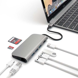 Cáp Usb Type C Letouch Multi Port Adapter 8 in 1 thumbnail