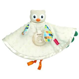Set khăn cú mèo ôm ấp & gặm nướu cao cấp cao su thiên nhiên - BPA Free Infantino 005328 thumbnail