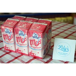 Sữa tươi Devondale vị Dâu hộp 200ml – Lốc 6 hộp/ Thùng 24 hộp (Date: 04/2021)