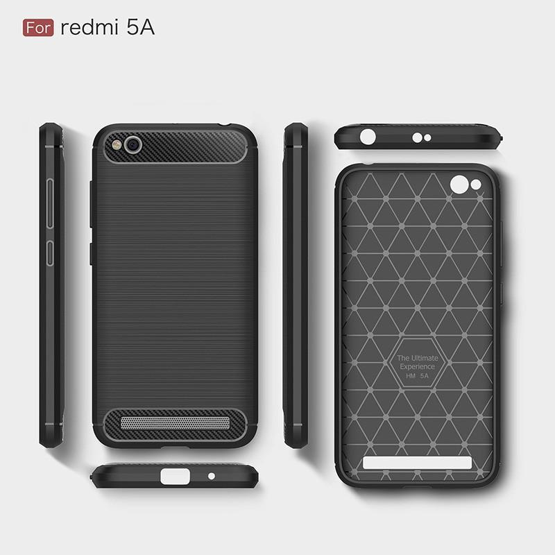 Ốp lưng silicone chống sốc cho Xiaomi Redmi 5A