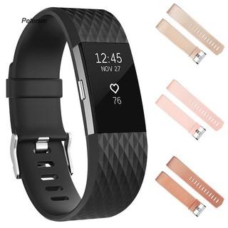 Dây đeo thay thế chất liệu mềm vân kim cương cho Fitbit Charge 2