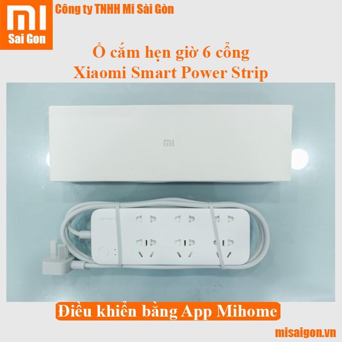Ổ cắm hẹn giờ 6 cổng Xiaomi Smart Power Strip