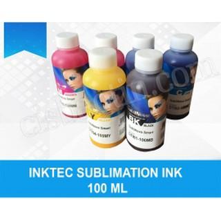 MỰC IN CHUYỂN NHIỆT( SUBLIMATION) LỌ 100ML thumbnail