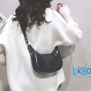 Túi xách nữ LOKADO túi nữ đeo chéo da mềm-HY014 thumbnail