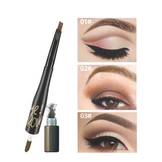 Lamuseland Natural Double Eyebrows Waterproof and Sweat Proof Eyebrow Pencil Eyebrow Powder Lk19E 1pcs thumbnail