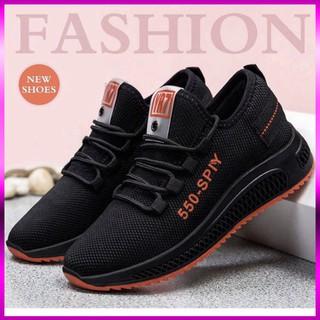 ( 2 màu ) Giày thể thao nữ 550, giày đi tập gym thể dục dụng /leo núi/dã ngoại công ty đế êm mềm giá rẻ thoáng châ