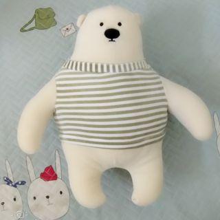 Gấu bắc cực áo sọc xanh
