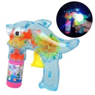 Súng bắn bong bóng cho bé (mã 188-2) kèm 2 lọ xà phòng. Giúp bé an toàn, vui chơi với bạn bè.