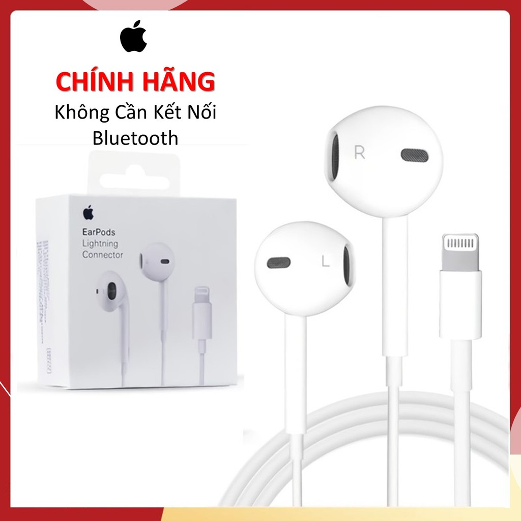 [Chính Hãng]Tai Nghe Iphone Lightning Dùng Cho Iphone 7 7 Plus, Iphone 8 8Plus, Iphone X/Xs/Xr/Xsmax, Iphone 12 Series
