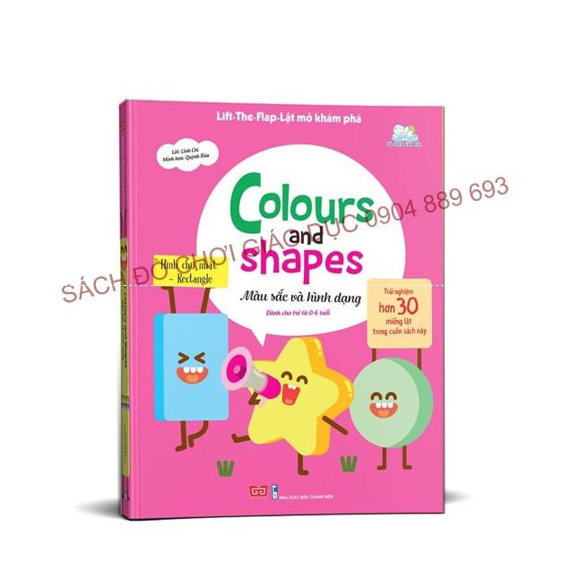 Colours and Shapes - Màu sắc và hình dạng, Lift-The-Flap - Lật Mở Khám Phá - 2651591 , 931157460 , 322_931157460 , 150000 , Colours-and-Shapes-Mau-sac-va-hinh-dang-Lift-The-Flap-Lat-Mo-Kham-Pha-322_931157460 , shopee.vn , Colours and Shapes - Màu sắc và hình dạng, Lift-The-Flap - Lật Mở Khám Phá