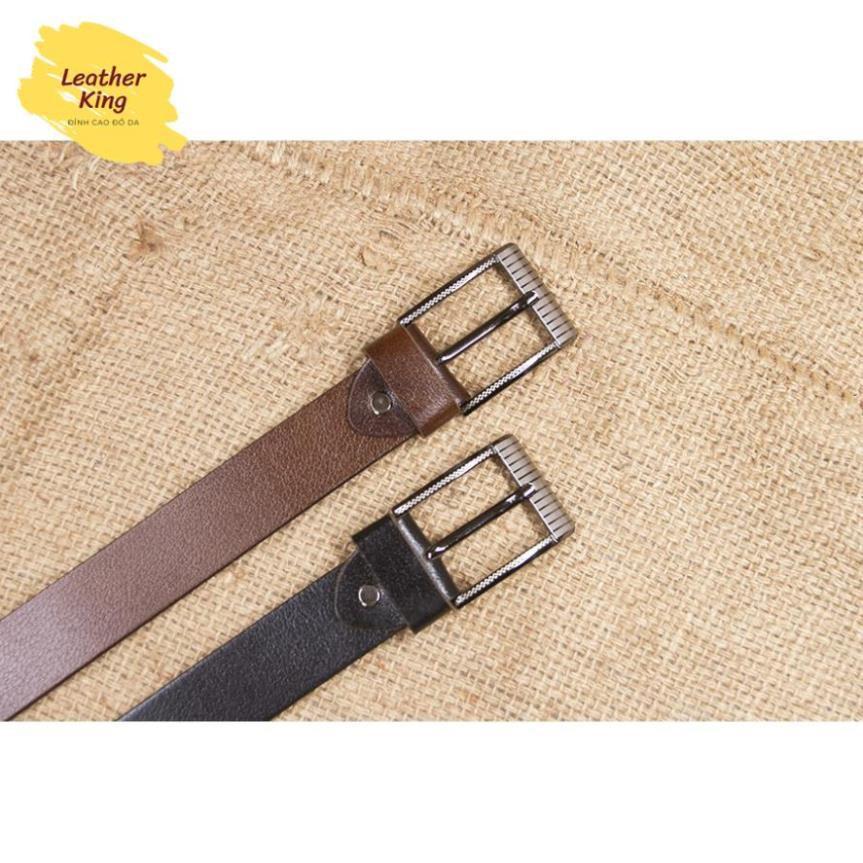 Thắt lưng nam, dây nịt nam 💥HÀNG ĐẸP💥 da bò nguyên tấm LEOTIVA 130 - tặng đinh đục lỗ tiện lợi - bảo hành 1 năm
