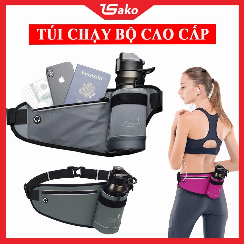 Túi đeo bụng chạy bộ, đai đeo chạy bộ đựng điện thoại, túi đeo chạy bộ đeo hông chống nước SAKOMART