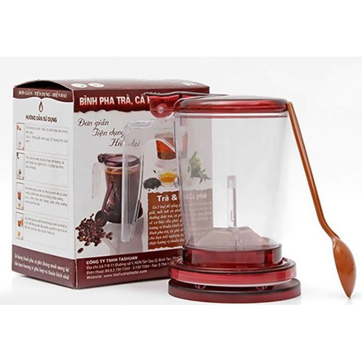 Bình pha trà và cà phê thông minh Tashuan TS-5195 (Đỏ đô)