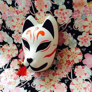 Mask_#6(Mặt nạ cáo,mask fox) -cosplay sdt liên hệ 0328680807
