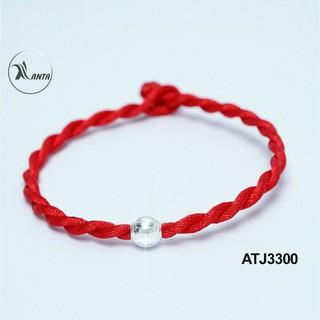 Hình ảnh Vòng tay chỉ đỏ hạt bạc 925 ANTA Jewelry ATJ3300-2