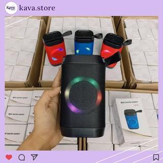 Loa bluetooth mini LV10 Kava Store Dó đèn led siêu chất bảo hành 6 tháng