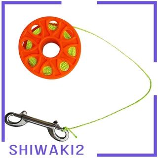 Kẹp Giữ Dây Lặn Biển Bằng Thép Không Gỉ Shiwaki2 18m