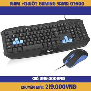 COMBO bàn phím chuột SAMA GT600-hàng chính hãng thumbnail