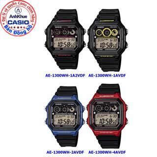 Đồng hồ nam Casio AE-1300 AE-1300WH-1A2F AE-1300WH-1A AE-1300WH-2A AE-1300WH-4A chính hãng Anh Khêu đây nhựa bền đẹp thumbnail