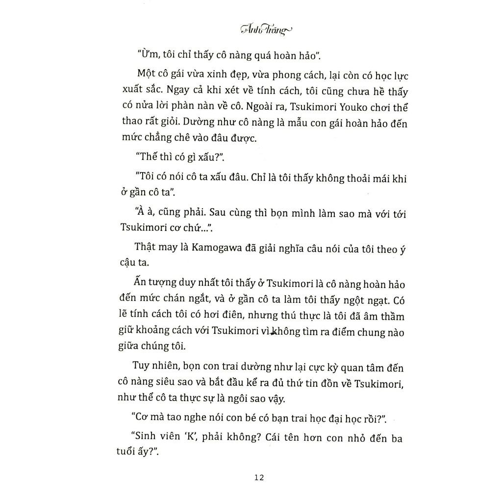 Sách light novel Ánh trăng
