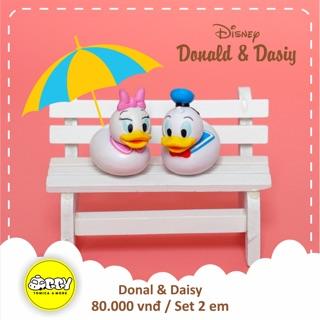 Mô hình Disney vịt Donald & Daisy