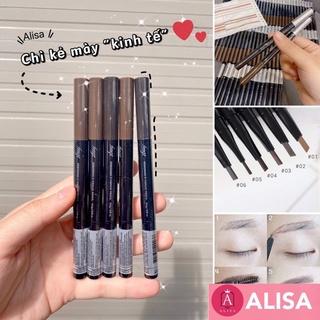 Chì kẻ mày The Face Shop 2 đầu Fmgt của Hàn - ALISA thumbnail