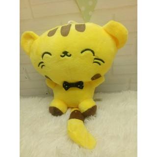 Mèo bông mặt bự size18cm