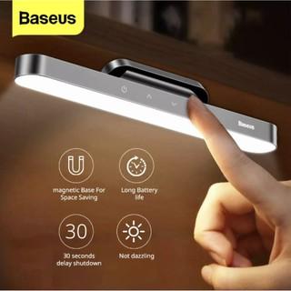 Đèn LED Đọc sách Baseus sạc USB gắn tường Từ Tính không dây, cảm ứng chạm điều chỉnh độ sáng + chế độ trễ tắt 30 giây