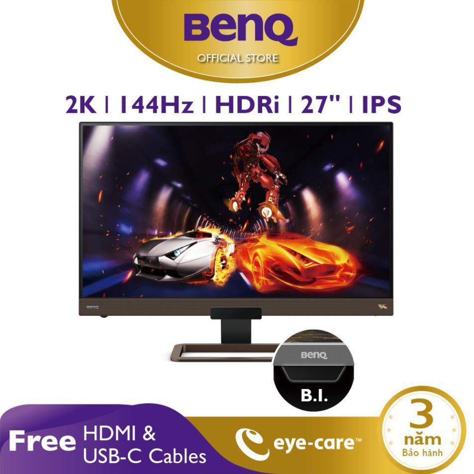 [HOT] Màn hình Gaming BenQ EX2780Q 27 inch 2K 144Hz với HDRi, FreeSync - Màn hình chơi Game, Giải trí và làm việc ở nhà
