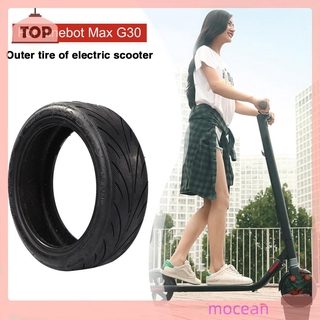 (mocean)Outer Tire Rubber Replacement for Ninebot Max G30 Tyre Kick Scooter Parts
