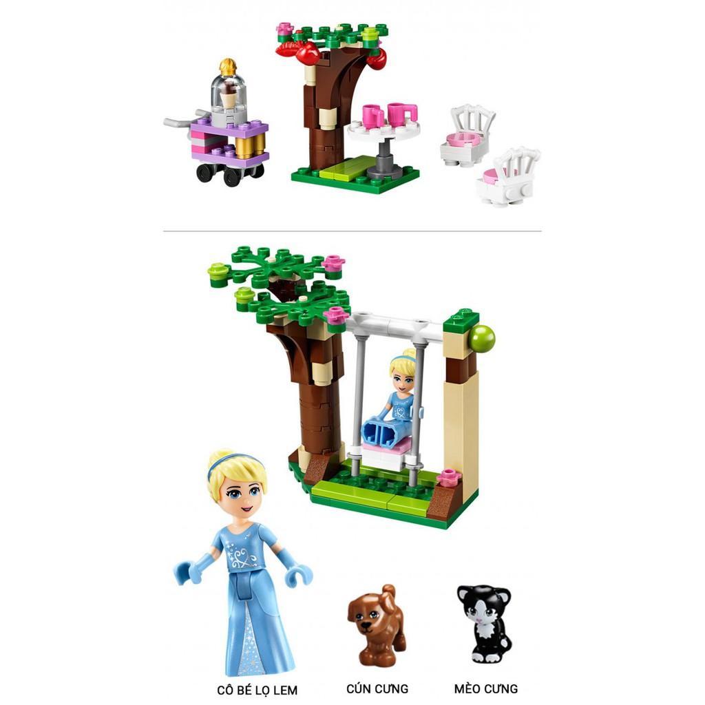 Bộ Lego Lâu Đài Công Chúa Lọ Lem (689 PCS)