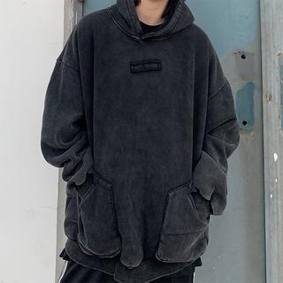Áo hoodie nam form rộng, áo hoodie nữ form rộng màu đen mặc nhà đi chơi thời trang hàn quốc