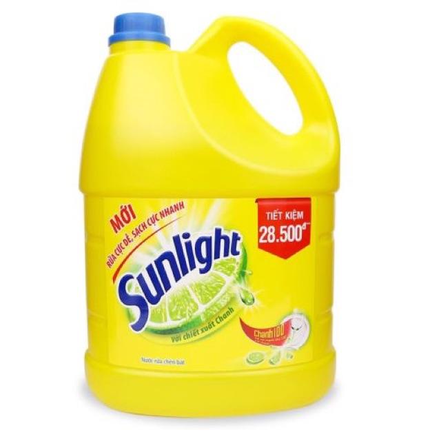 Nước rửa bát sunlight hương chanh 3.8kg