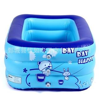 Bể phao bơi 3 tầng cho bé yêu, bền đẹp, an toàn, tiện dụng, Phân phối uy tín bởi SKC Store