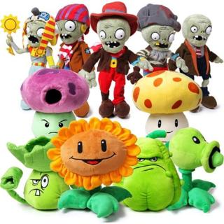 Thú nhồi bông đồ chơi hình nhân vật trong game PLANTS vs. ZOMBIES mềm mại thumbnail