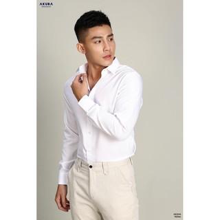 Áo Sơmi trắng nam, hàng chuẩn AKUBA vải cực đẹp – chống nhăn