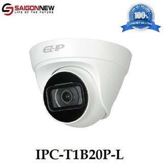 Camera IP Dome hồng ngoại 2.0 Megapixel DAHUA IPC-T1B20P-L thumbnail