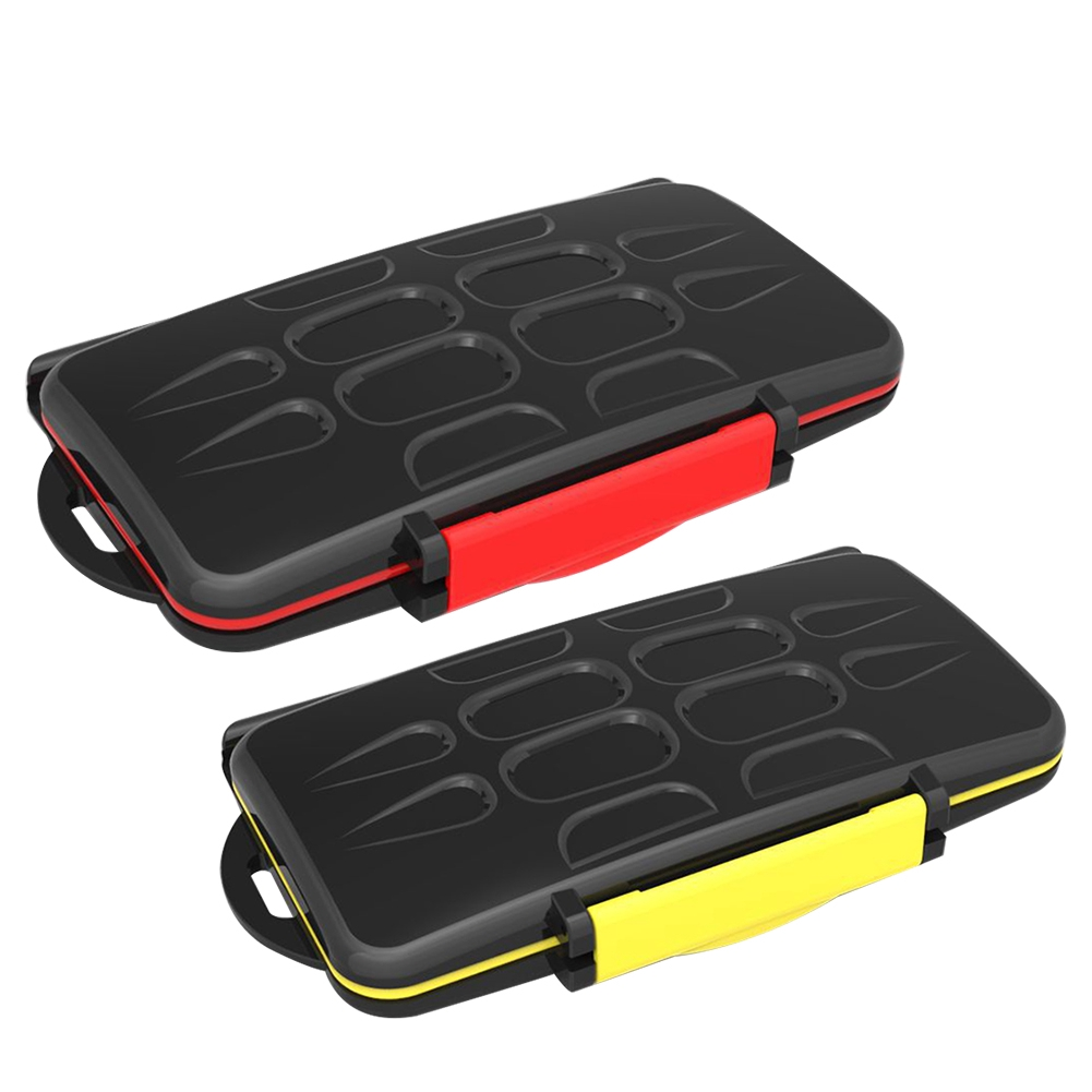 Accessories Large Capacity Anti Shock Seal Durable Professional Waterproof Carrying Protective Portable Memory Card Case