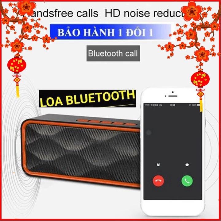 Loa bluetooth Cầm Tay Sc211, FM, Bluetooth Âm Thanh Cực Đỉnh