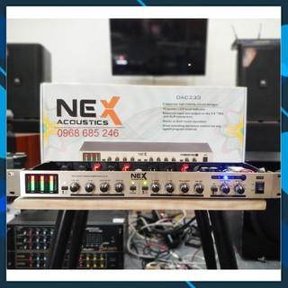Máy nâng tiếng hát karaoke Nex DAC233 CHÍNH HÃNG có cổng quang+ bluetooth chất hơn idol ultra thumbnail