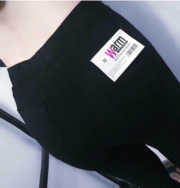 Quần LEGING WARM xuất Nhật chuẩn loại 1 túi zip