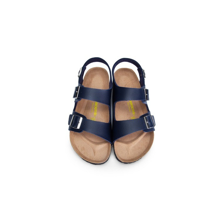 Unisex Original Birkenstock Sandals MILANO Matt Navy
