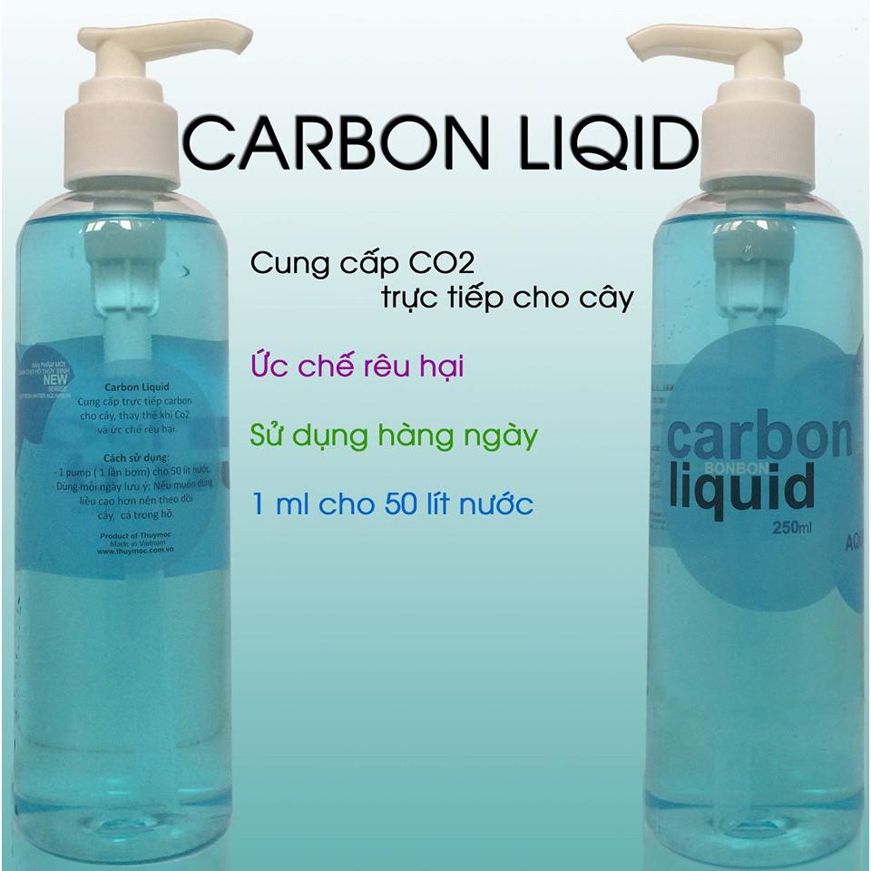 Carbon Liquid Thủy Mộc - CO2 dạng nước cho hồ thủy sinh