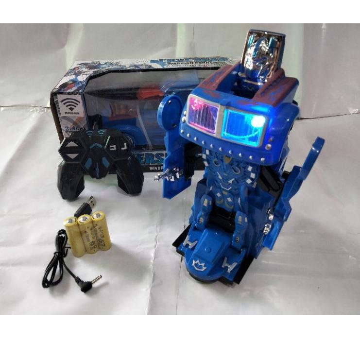_➹ Robot xe hơi điều khiển từ xa biến hình Optimus Prime