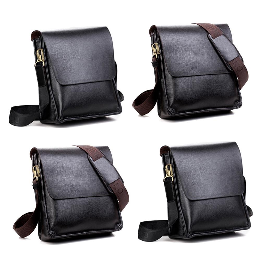 Fashion Men Leather Computer Briefcase Shoulder Bag Messenger Business