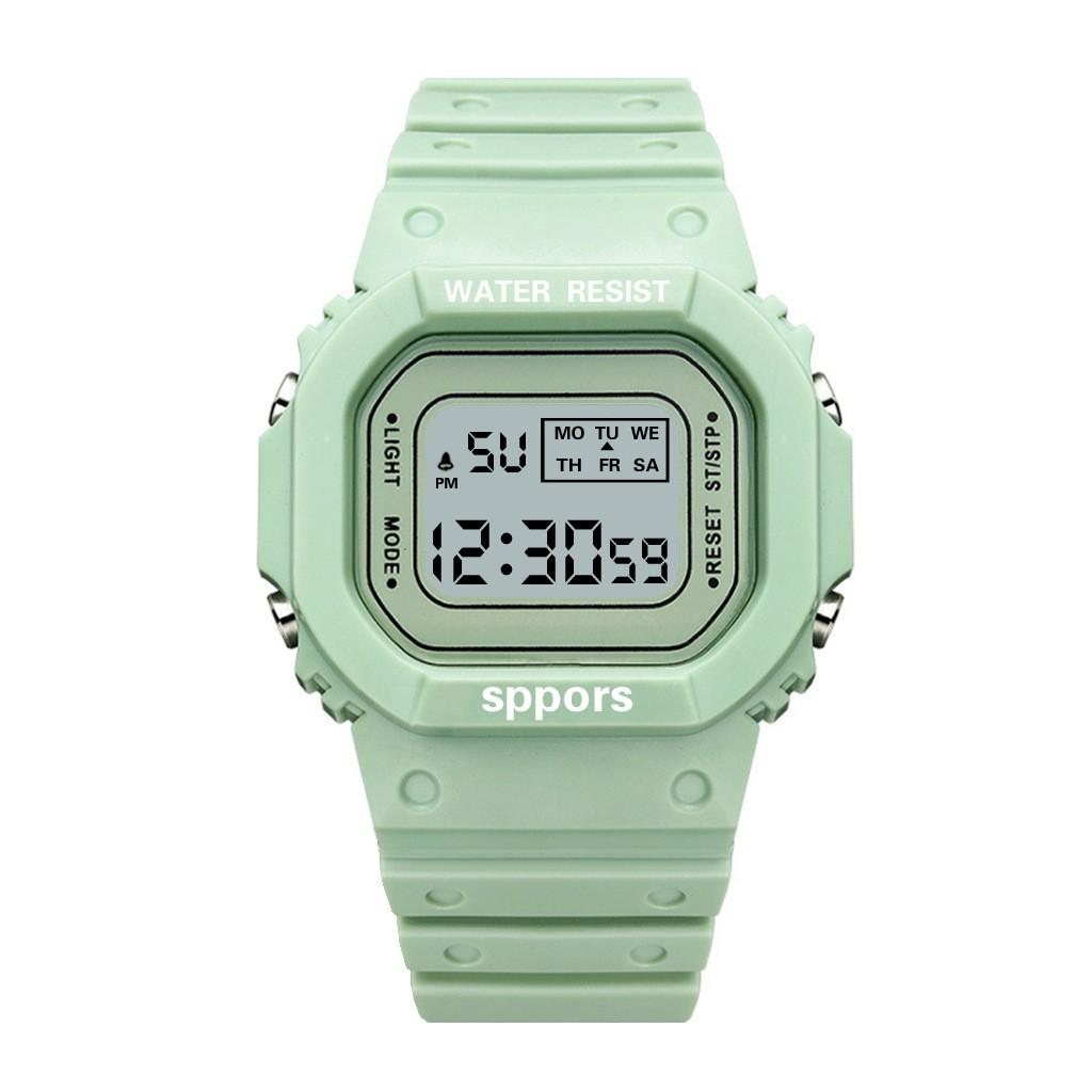 Đồng hồ thể thao nam⚜️FREESHIP⚜️ đồng hồ điện tử Phiên bản Hàn Quốc của xu hướng thể thao 2020 đơn giản Phong cách TT05