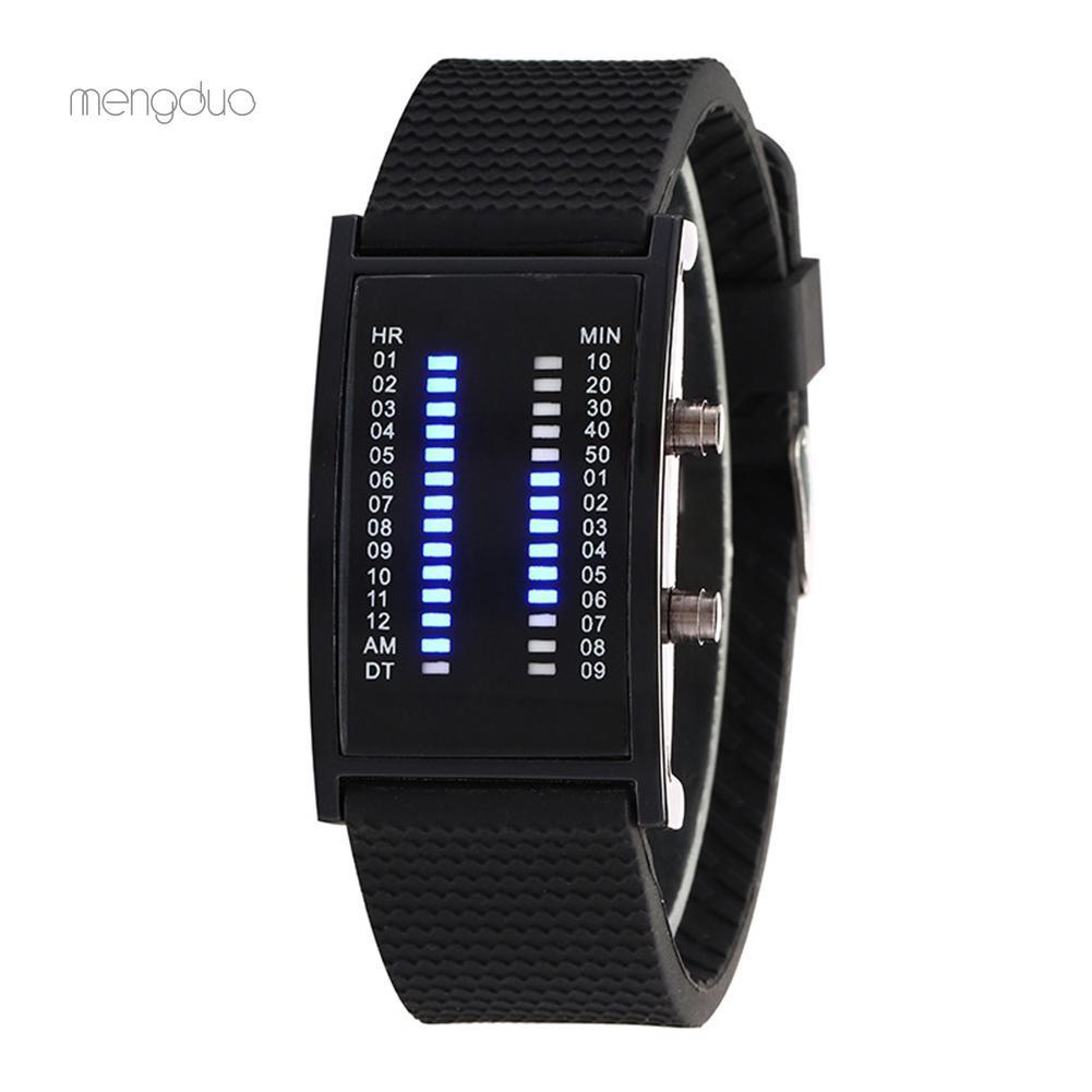 Đồng hồ đeo tay dây silicon thời trang cá tính cho nam nữ