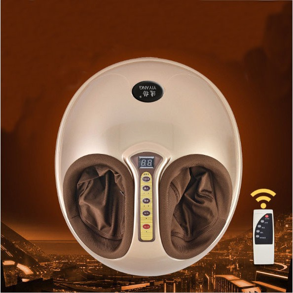Máy massage chân 4D hồng ngoại kèm remote điều khiển từ xa