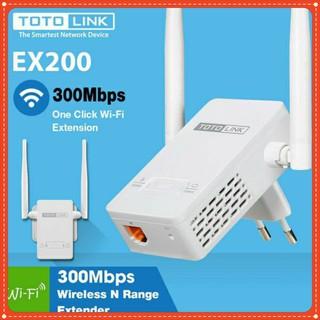 Bộ Mở Rộng Sóng Wifi Totolink EX200 Chuẩn N Tốc Độ 300Mbps